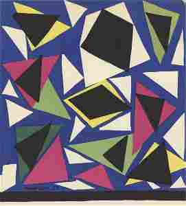 "Henri Matisse - L'Escargot - 1952 Lithograph 10.75"" x"
