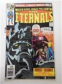Eternals #1 Top staple pop