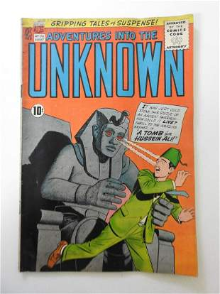 Adventures into the Unknown #126