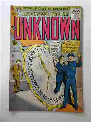 Adventures into the Unknown #86