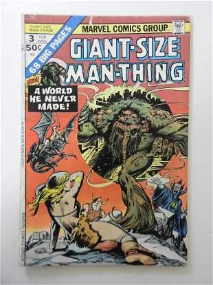 Giant-Size Man-Thing #3 MVS intact