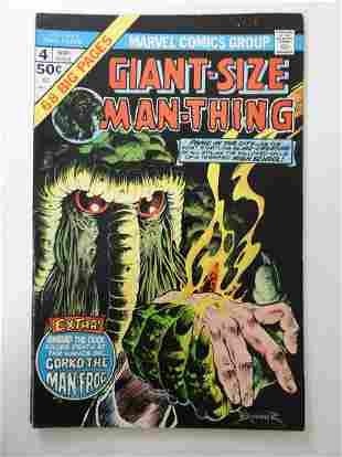 Giant-Size Man-Thing #4 MVS intact
