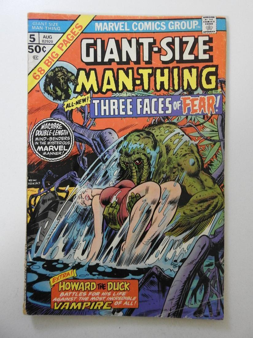 Giant-Size Man-Thing #5 MVS intact