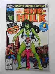 She-Hulk #1 1st appearance and origin of the She Hulk