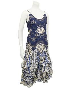 Alexander McQueen Alexander McQueen Blue Lace and