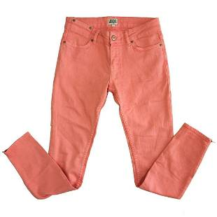 Auth Twist & Tango Pink Cropped Trousers pants w. ankle