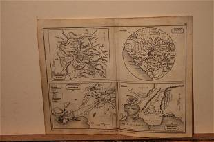 1828 Ancient Cities Map