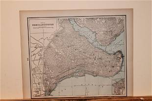 1888 Constantinopole Map
