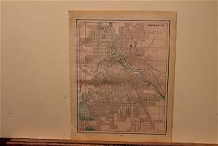 1892 Minneapolis Map