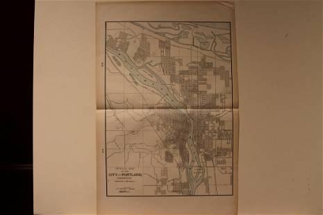 1901 Portland Map