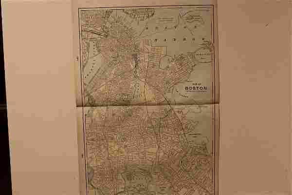 1901 Boston Map