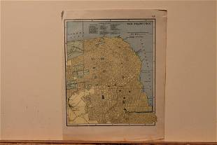 1885 San Francisco Map