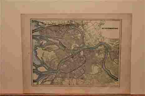 1900 St. Petersburg Map