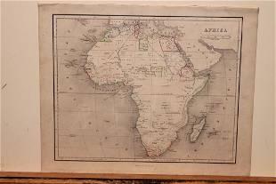 1859 Africa Map