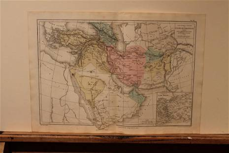1869 Asia Map