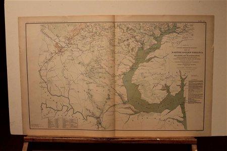 1891 Washington DC Civil War Map