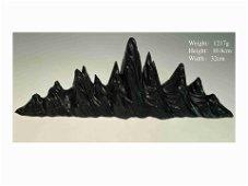 Chinese Lingbi Stone Scholar's Rock/ Brushpen Holder