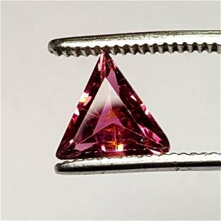 2.15 Carats Trillion Cut Pink Tourmaline - 9X9X5 mm