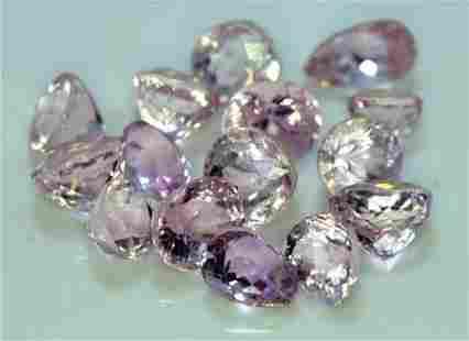 Pink Kunzite, 41.05 Carats Natural Jewelry Size Pink