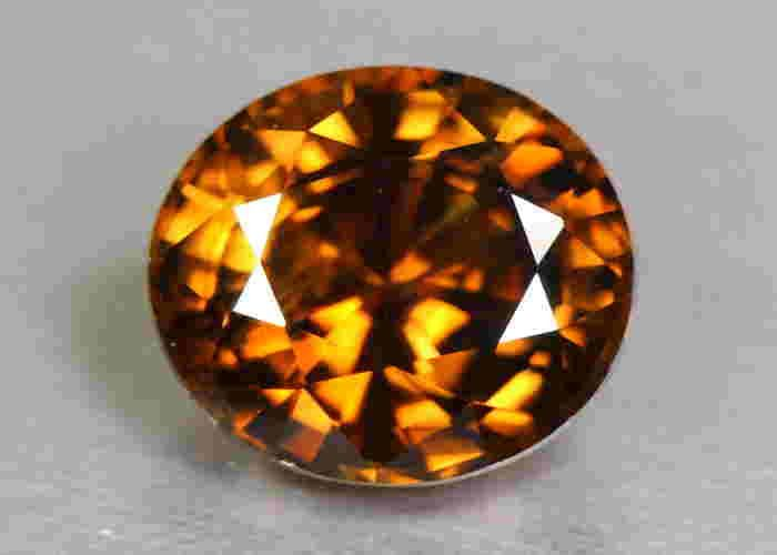 2.58 Ct. Natural Unheated Imperial Orange Pink Zircon