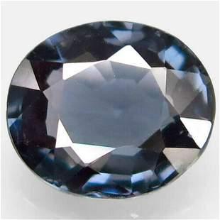 natural titanium blue spinel-1,58 ct 1,2