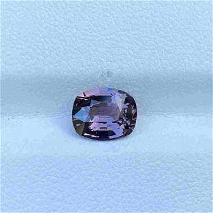 Natural Unheated Purple Spinel Madagascar 1.98 Cts VVS