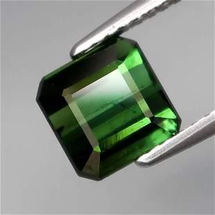 natural top green tourmaline-2,05 ct 1,2