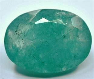 Natural Oval Cut Emerald