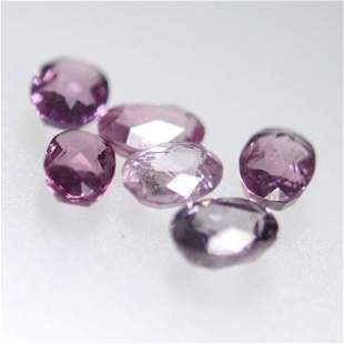 4.36 Cts Oval Mix Color Natural Spinels