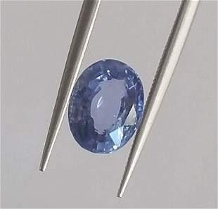 natural blue sapphire igi report unheated-2,51 ct 1,2,3