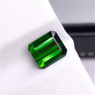 Natural Emerald Cut 2.63 Carats Tourmaline Loose