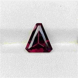 Natural Untreated Pink Spinel 4.37 Cts Triangle Cut Sri
