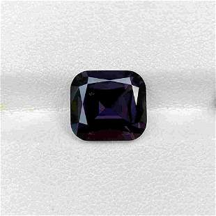 Natural Untreated Purple Spinel 6.15 Cts Cushion Cut