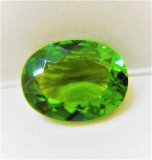 Green Tourmaline Certified - 2.31 ct
