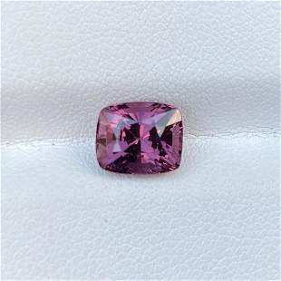 Natural Unheated Pink Spinel 2.81 Cts Cushion Cut Loose