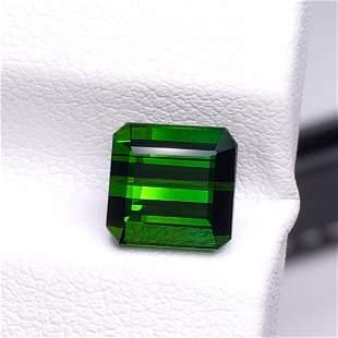 Natural Emerald Cut 2.95 Carats Tourmaline Loose