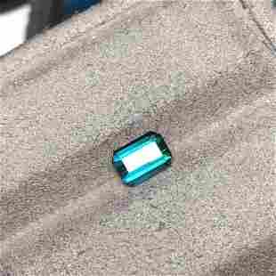 Natural Emerald Cut 2.11 Carats Tourmaline Loose