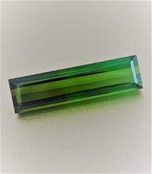 Green Tourmaline - 6.30 ct