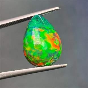 Natural Pear Cut 6.49Carats Opal Loose Gemstone