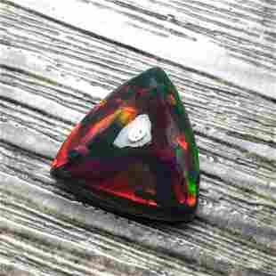 Natural Triangle Cut 8.03Carats Opal Loose Gemstone