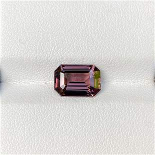 Natural Unheated Pink Spinel 3.50 Cts VVS Emerald Cut