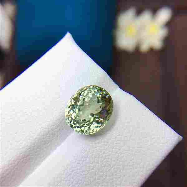Natural Oval Cut 4.02 Carats Tourmaline Loose Gemstone