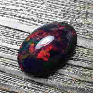 Natural Oval Cut 12.43Carats Opal Loose Gemstone