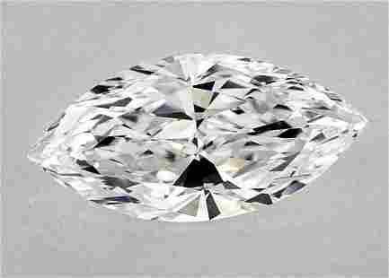 GIA CERT 2.18 CTW MARQUIZE DIAMOND DVVS1