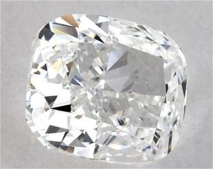GIA CERT 1.03 CTW CUSHION DIAMOND EVVS1