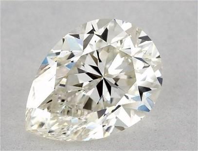 GIA CERT 1.13 CTW PEAR DIAMOND JSI1
