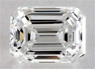 GIA CERT 1.03 CTW EMERALD DIAMOND DIF
