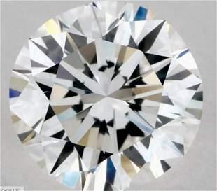 GIA CERT 1.00 CTW ROUND DIAMOND DIF