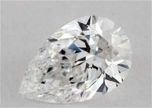 GIA CERT 1.20 CTW PEAR DIAMOND DVS2