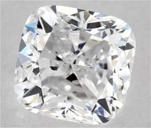 GIA CERT 1.03 CTW CUSHION DIAMOND DSI1